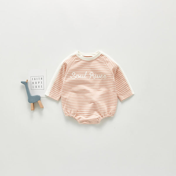 Soul River Striped Bodysuit