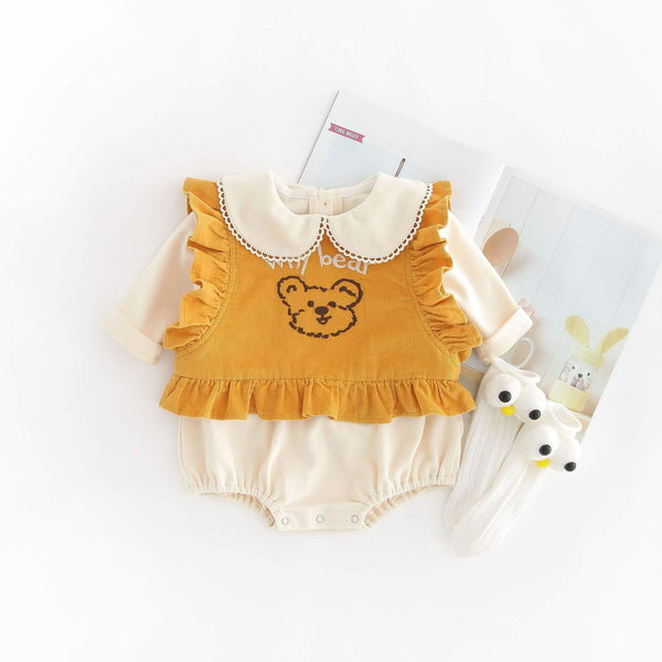 Why Bear Cotton Bodysuit