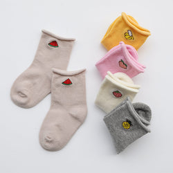 Sweet Cotton Fruit Socks