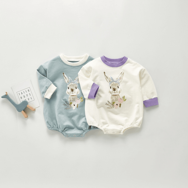 Pretty Rabbit Romper