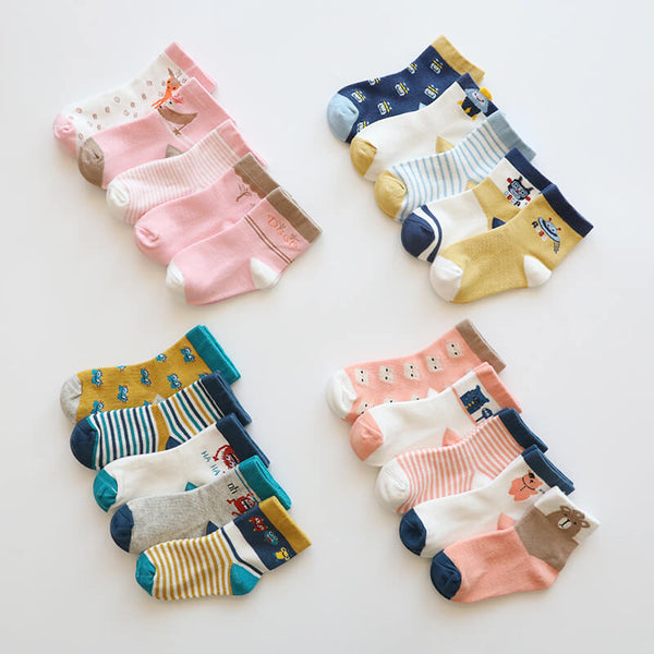 Cartoon Long Socks
