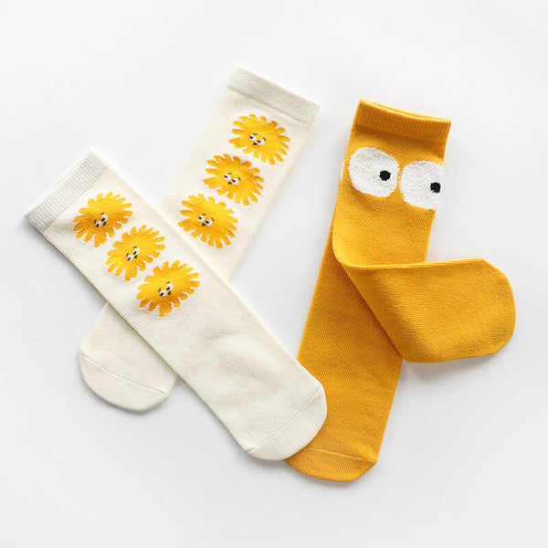 Cartoon Knee High Socks