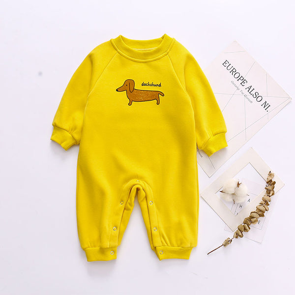 Puppy Long Sleeve Bodysuit