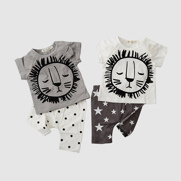 Lion Star Two-Piece Set