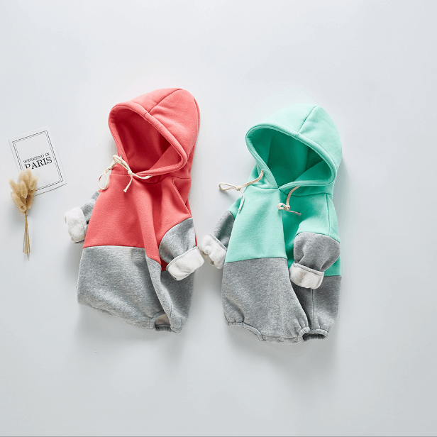 Cotton Hooded Romper