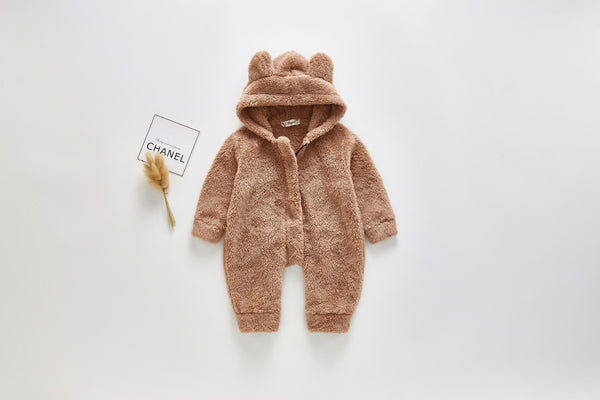 Cuddly Teddy Jumpsuit