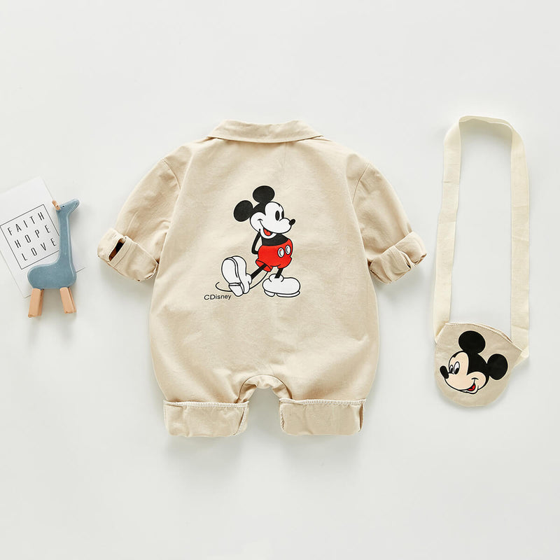 Korean Cartoon Romper