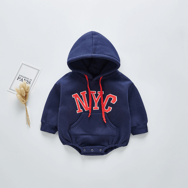 NYC Hooded Romper