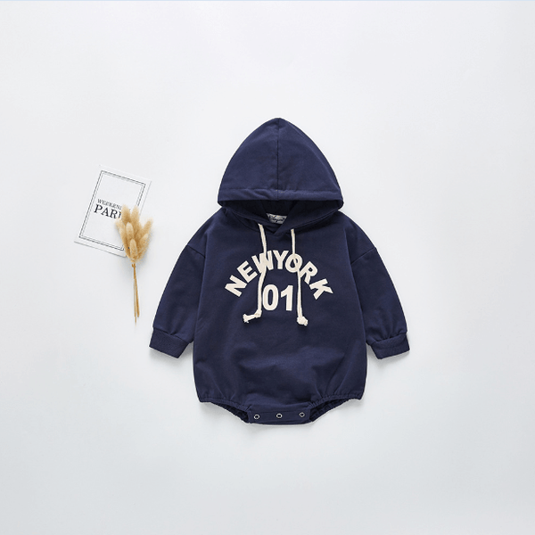 New York Hooded Romper