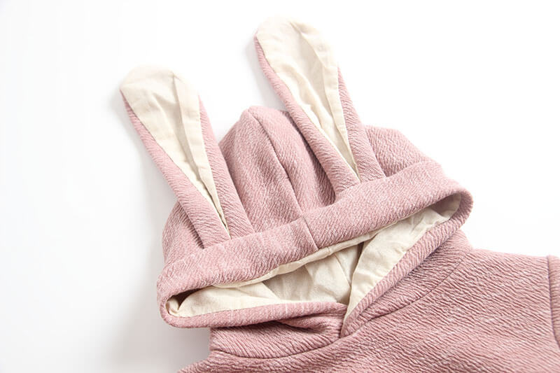 Bunny Hooded Jumpsuit
