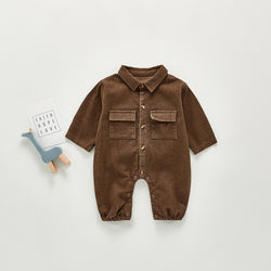 Corduroy Cotton Jumpsuit
