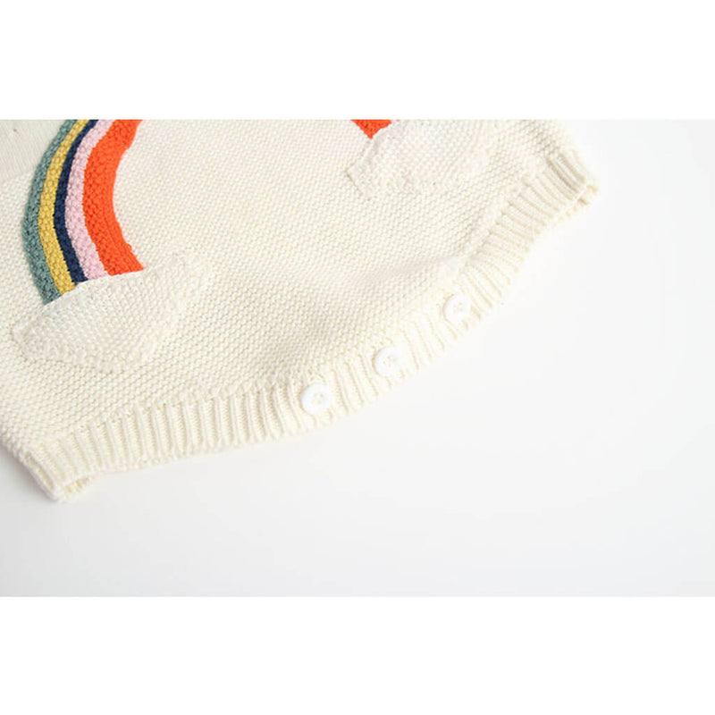 Knitted Rainbow Overall