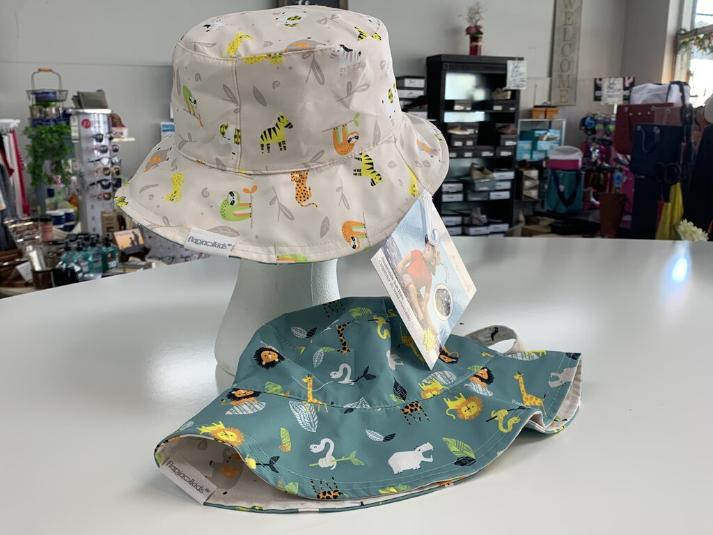 Reversible Sun Hat - Zoo