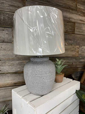 Textured Ceramic Lamp