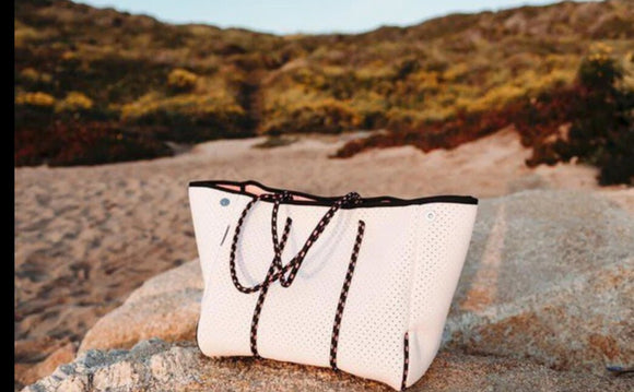 White Waterproof Tote