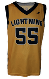 V-Neck Basketball Jersey With Binding