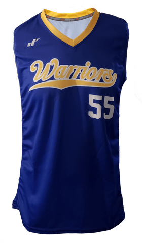 Women's Sleeveless Softball Jersey - V-Neck