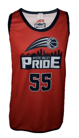 Women's Reversible Basketball Pinnie (Single Ply)