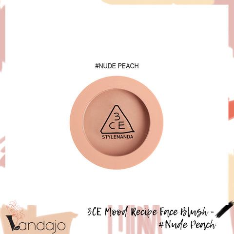 3CE - Mood Recipe Face Blush (#Nude Peach)