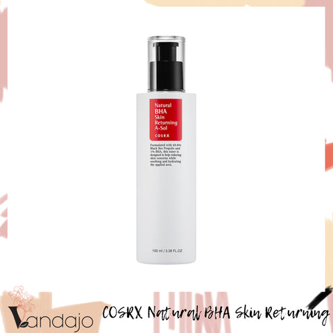 COSRX - Natural BHA Skin Returning A-Sol (100ml)