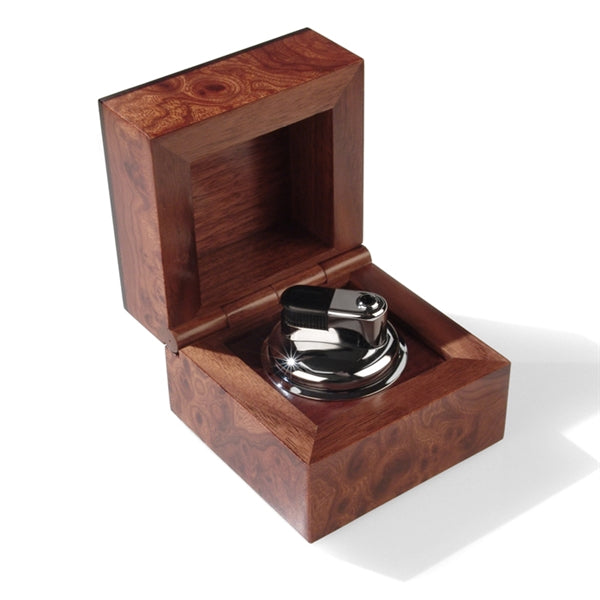 Jemar root and ebony wood box lighter