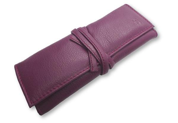 GERmanikure Small Leather Roll Up Case