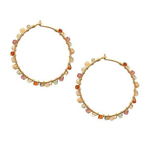 Hoop Multi Stone Summer