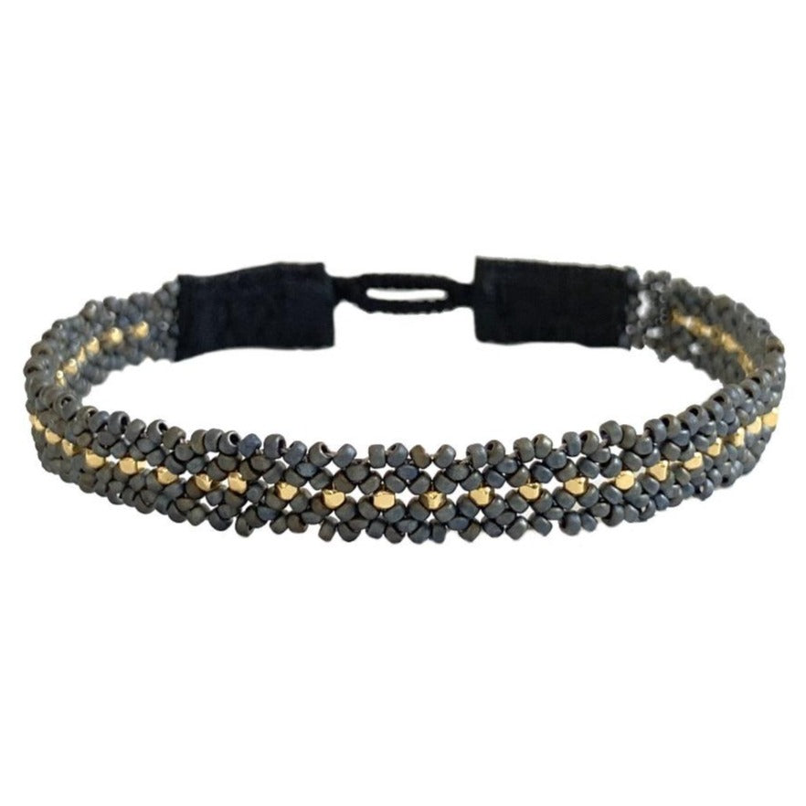 The Silk Bracelet Gunmetal
