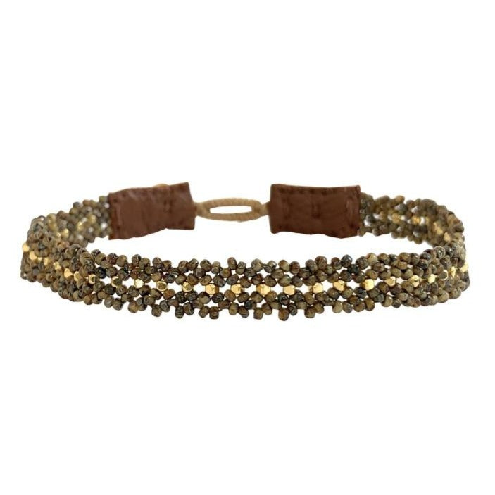The Silk Bracelet Khaki