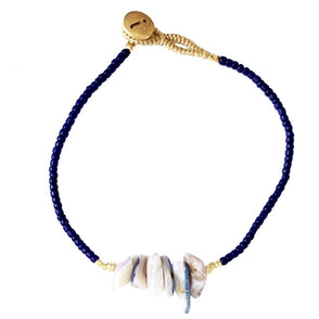 Lulu Chip Gemstone Navy