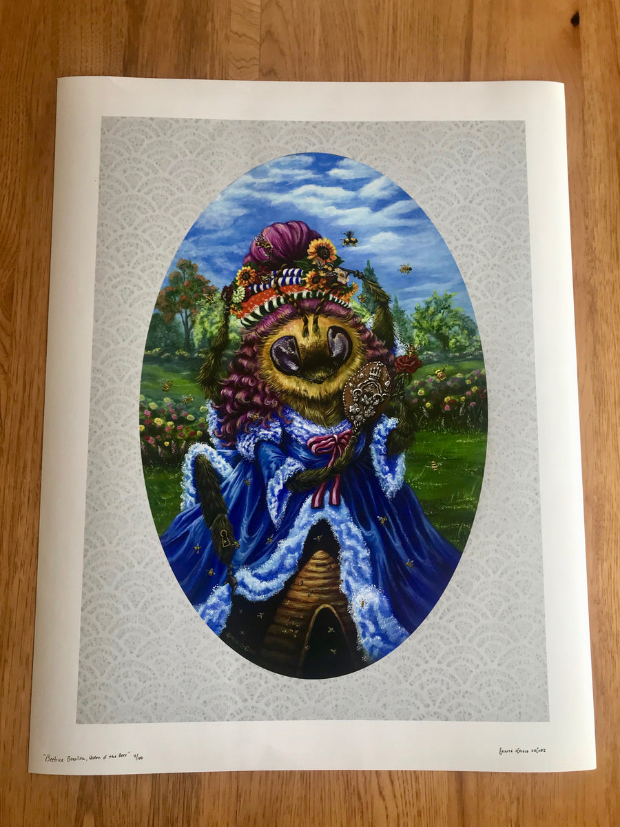 """Beetrice Beaulieu, Queen of the Bees"" - LIMITED EDITION PRINT OF 100"