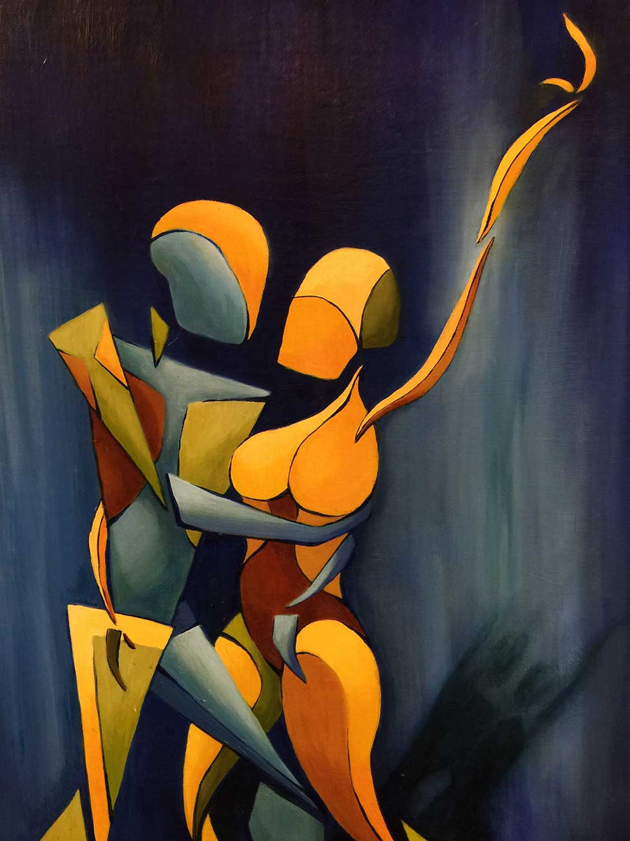 """Intertwined"" – Oils on Canvas"