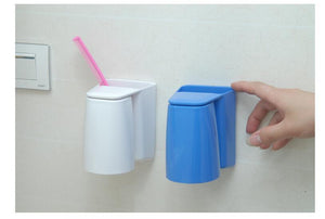 Creative Magnetic Tooth Mug 3 Colors Wash Gargle Cup