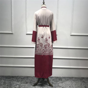 Kimono Dress Women Dresses Muslim Outfit Wedding Dress Muslim Fashion Clothing Bridesmaid Dress Long Sleeve Dress Summer Dresses for Women
