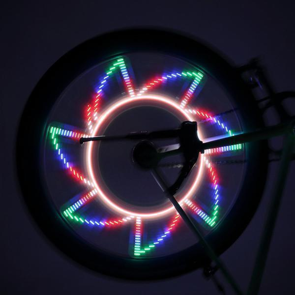 Colorful Bicycle Wheel Lights