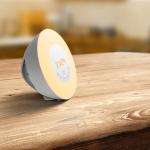 Electronic Alarm clock Bluetooth speaker touch simulates sunrise and sunset