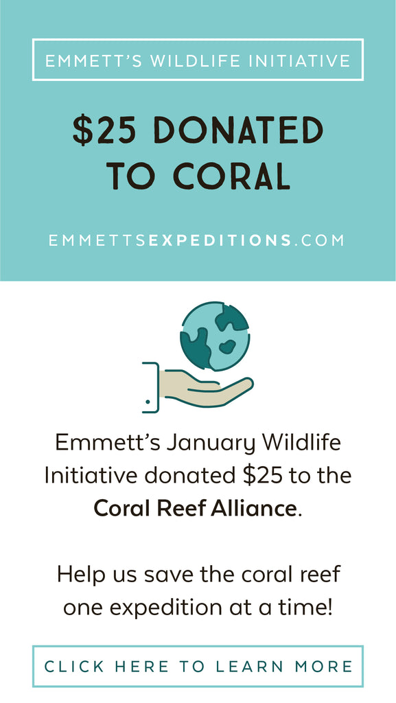 Emmett's Wildlife Initiative donated $25 to CORAL
