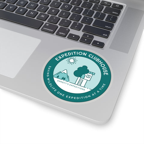 Expedition Clubhouse Stickers