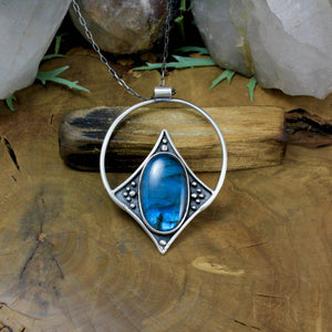 Conjurer Pendant // Labradorite - acid-queen-jewelry, All Products - acid-queen-jewelry, vendor-unknown - acid-queen-jewelry,  Acid Queen Jewelry - acid-queen-jewelry