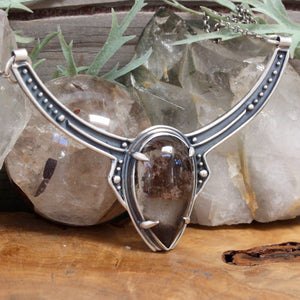 Voyager Neck Cuff // Lodolite - acid-queen-jewelry, All Products - acid-queen-jewelry, vendor-unknown - acid-queen-jewelry,  Acid Queen Jewelry - acid-queen-jewelry