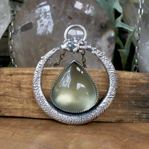 Serpent Queen Pendant  // Lemon Quartz - acid-queen-jewelry, All Products - acid-queen-jewelry, vendor-unknown - acid-queen-jewelry,  Acid Queen Jewelry - acid-queen-jewelry