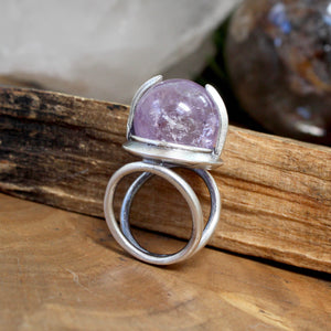 Divination Ring // Ametrine - Size 6.5 - acid-queen-jewelry, All Products - acid-queen-jewelry, vendor-unknown - acid-queen-jewelry,  Acid Queen Jewelry - acid-queen-jewelry