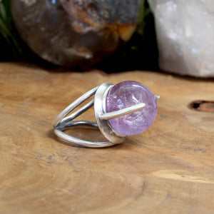 Divination Ring // Ametrine - Size 6.5 - Acid Queen Jewelry
