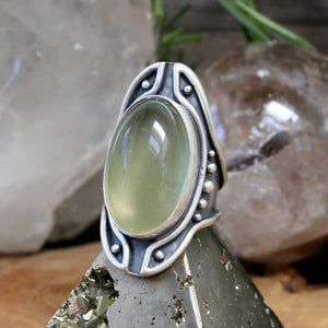 Warrior Shield Ring // Lemon Quartz - Size 10 - acid-queen-jewelry, All Products - acid-queen-jewelry, vendor-unknown - acid-queen-jewelry,  Acid Queen Jewelry - acid-queen-jewelry