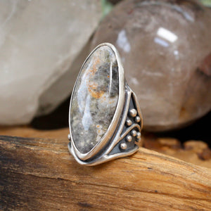 Warrior Ring // Ocean Jasper - Size 7 - Acid Queen Jewelry