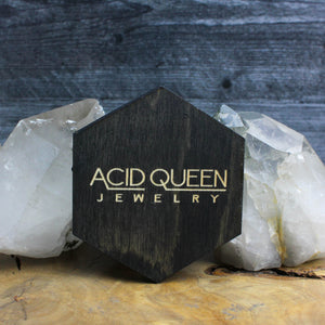 Hexagon Spider Trinket Tray - acid-queen-jewelry, [product_type] - acid-queen-jewelry, Acid Queen Jewelry - acid-queen-jewelry,  Acid Queen Jewelry - acid-queen-jewelry