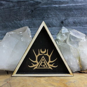 Triangle Logo Trinket Tray - Acid Queen Jewelry