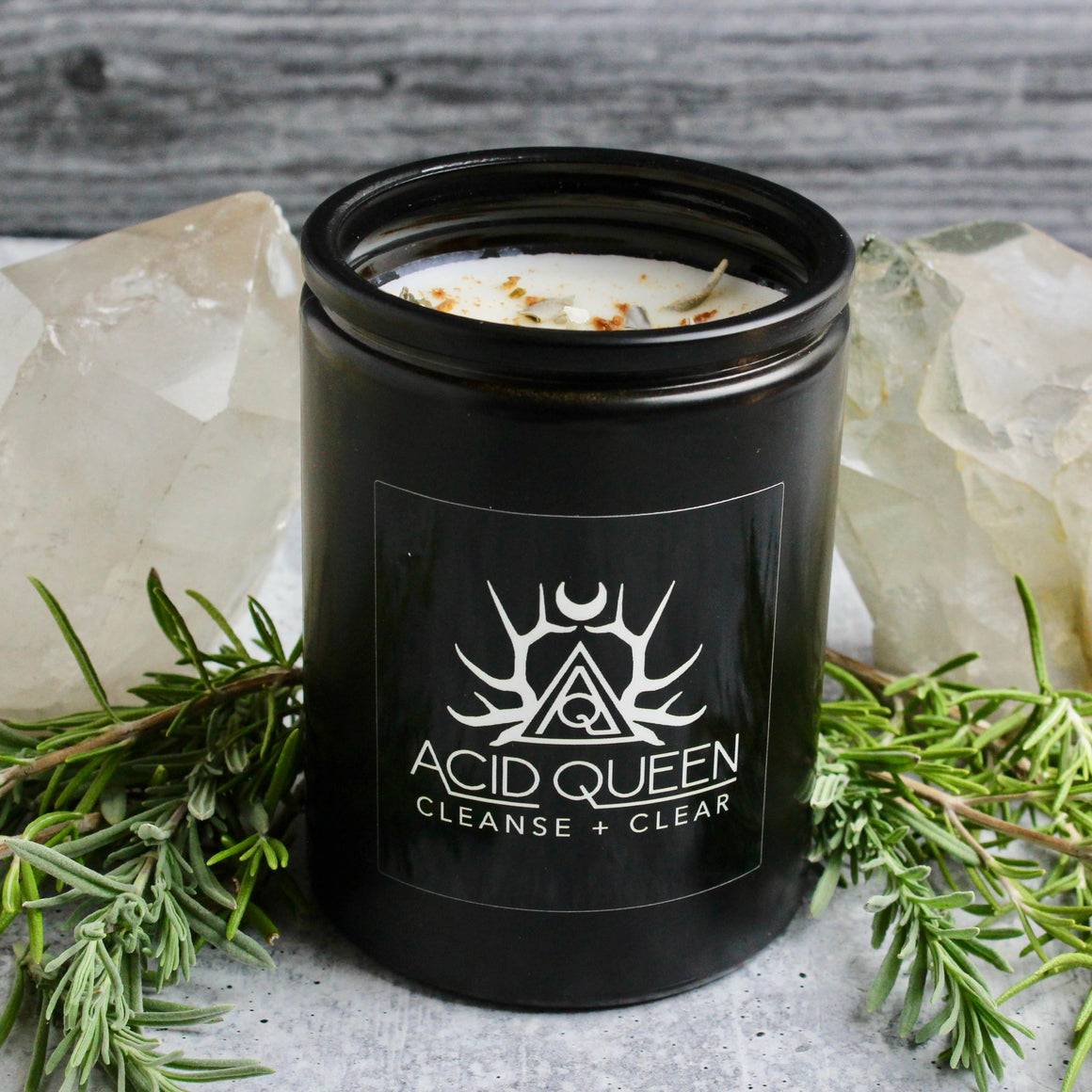 Mood Candle // Cleanse + Clear - Acid Queen Jewelry