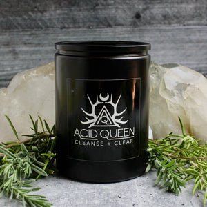 Mood Candle // Cleanse + Clear - acid-queen-jewelry, [product_type] - acid-queen-jewelry, Acid Queen Jewelry - acid-queen-jewelry,  Acid Queen Jewelry - acid-queen-jewelry