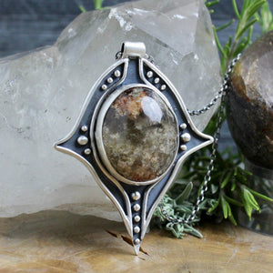 Voyager Necklace // Lodolite - Acid Queen Jewelry